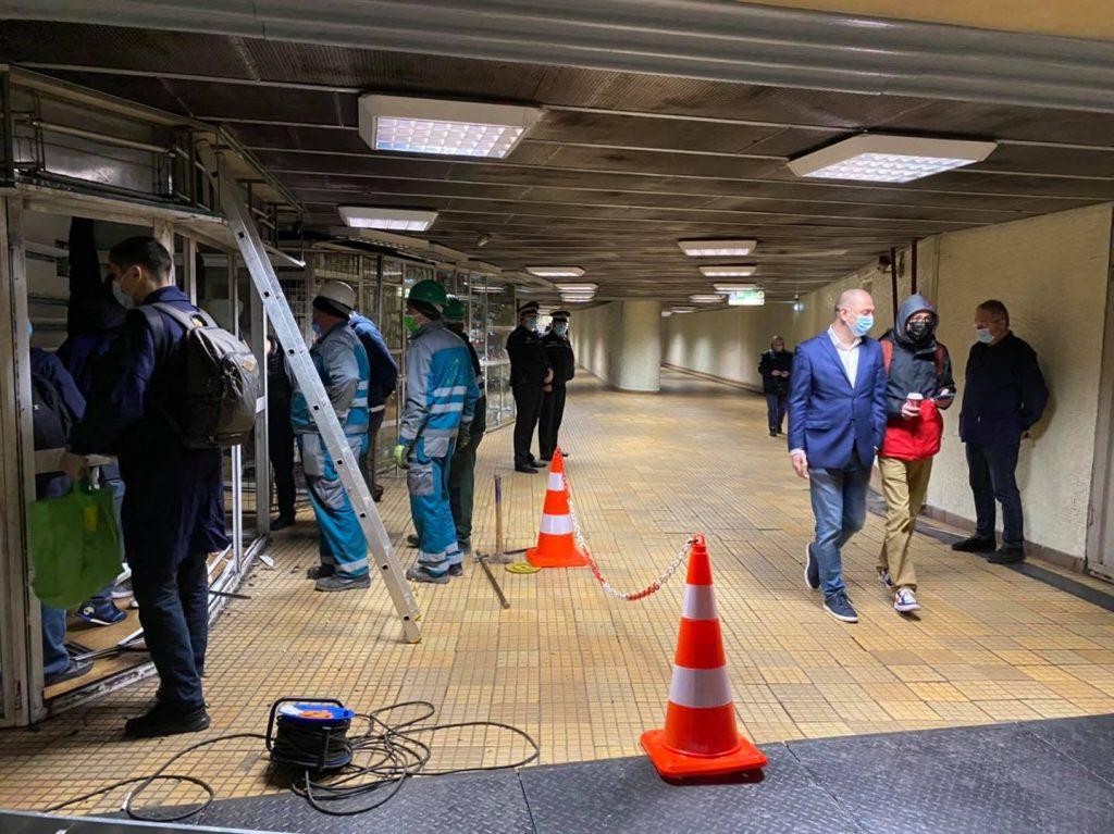 Radu Mihaiu, demolare, statii, Metrou