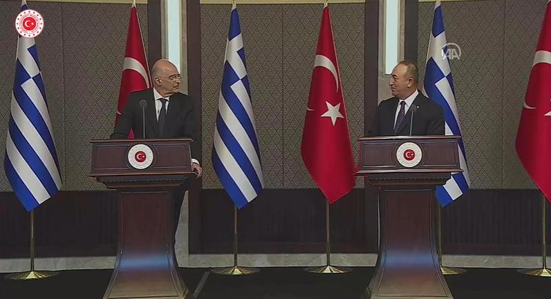 ministrul turc de externe şi cel grec