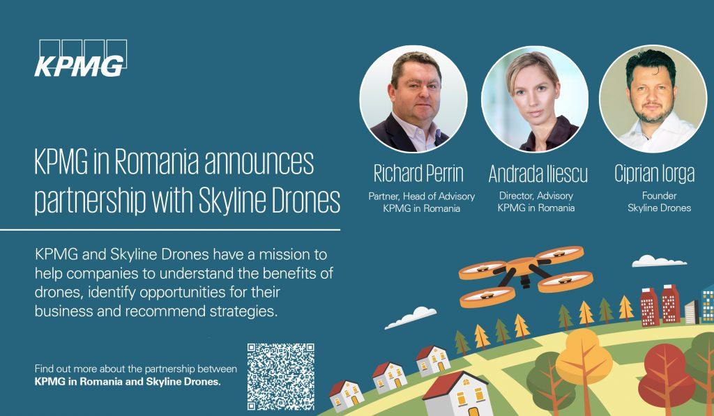 KPMG în România anunță parteneriatul cu Skyline Drones