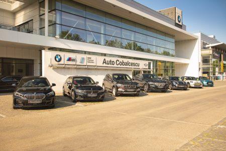 Auto Cobălcescu BMW Showroom exterior Mini masini self check in