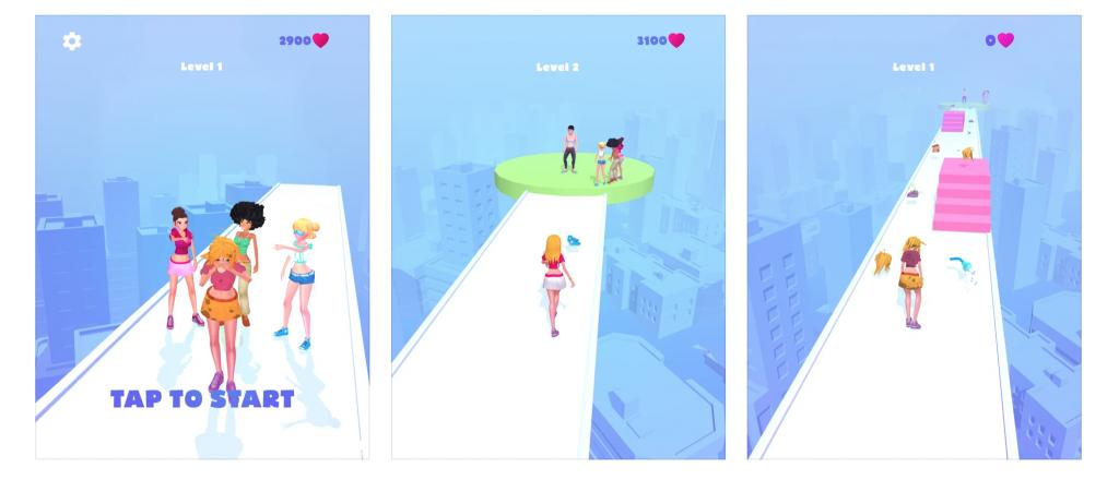 Jocul Makeover Run, dezvoltat de către Firebyte Games, a ajuns pe locul 5 în topul jocurilor gratuite pe piața din SUA