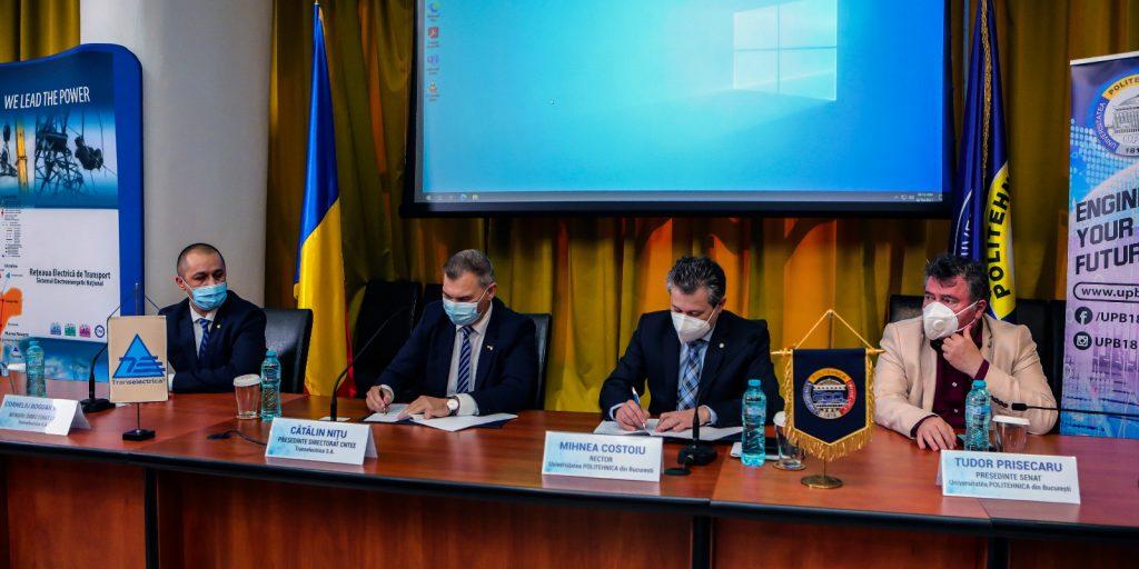 Transelectrica va înființa în parteneriat cu Universitatea Politehnica din București primul laborator digital din România – DigiTEL, un incubator al transformării digitale în industria energetică