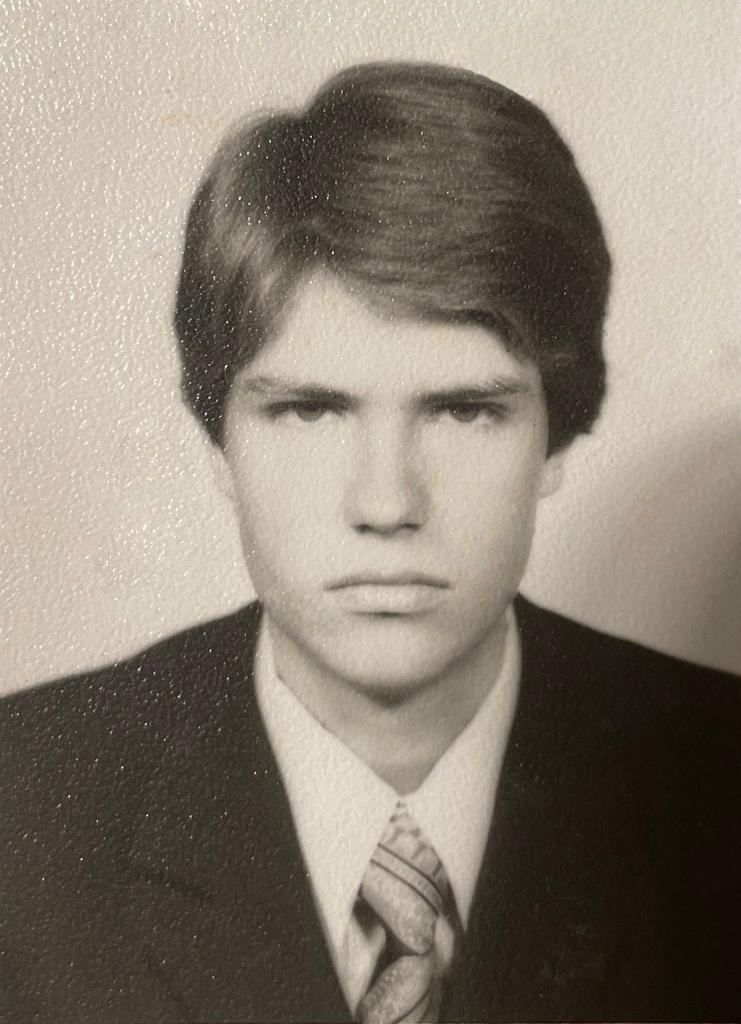 Klaus Iohannis la 17 ani.