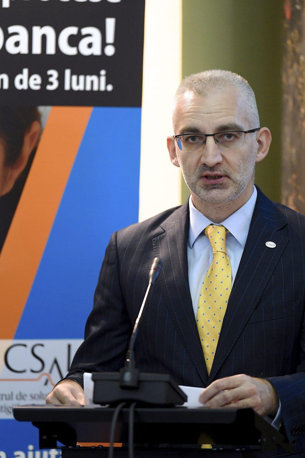 Alexandru Paunescu, CSALB, BNR negociere clienti banci