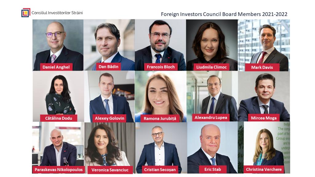 consiliul investitorilor straini