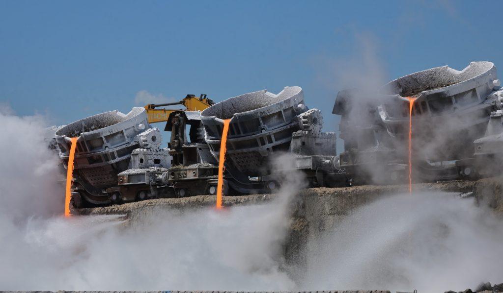 LIBERTY Galați a exportat 50.000 de tone de zgură granulată de furnal folosită la producerea de ciment cu amprentă redusă de carbon