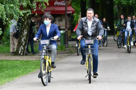 nicusor dan Ziua Mondiala a Bicicletei