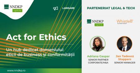 NNDKP Adriana Gaspar guvernanta corporativa standard Directiva privind protecția persoanelor care raportează încălcări ale dreptului Uniunii