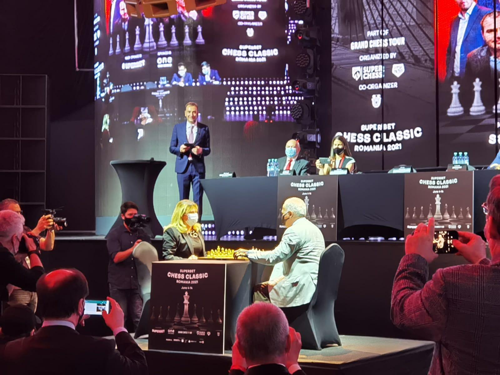 Garry Kasparov, Anca Dragu, Grand Chess Tour, Superbet