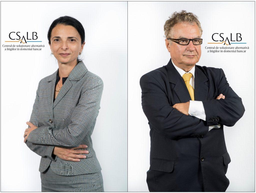 Nela Petrișor și Septimiu Stoica, conciliatori CSALB