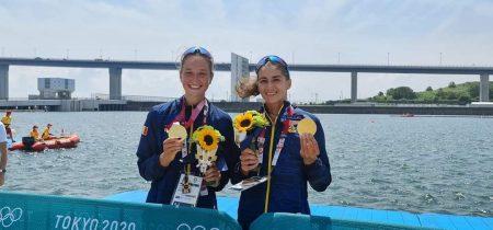 JO 2020 Ancuţa Bodnar şi Simona Radiş aur la Tokyo