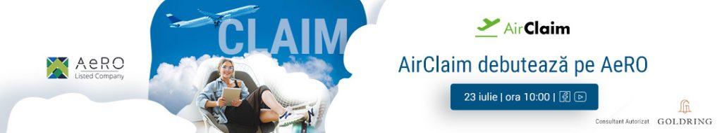 Air Claim debutează pe AeRO