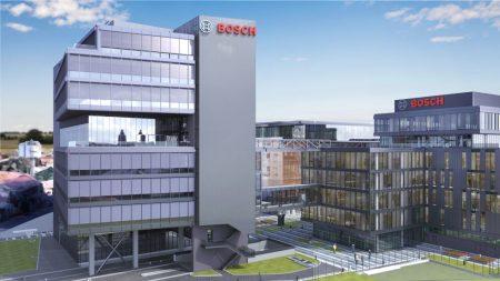 Centrul de Inginerie Bosch din Cluj - randare cladire 2- small