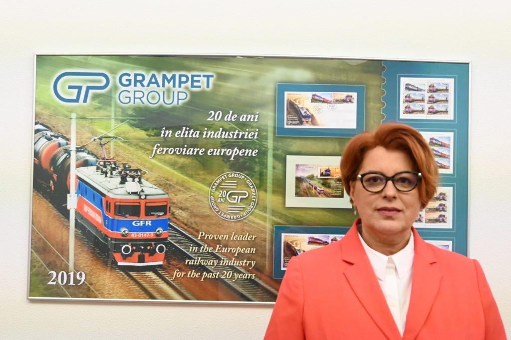 Mihaela Crăciun Director Resurse Umane Grup Feroviar Român (GFR)