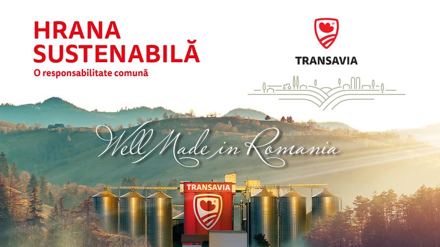 TRANSAVIA, companie cu capital 100% românesc, se alătură inițiativei Europene pentru practici responsabile în sectorul alimentar