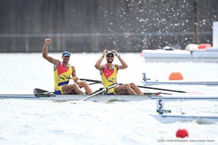 JO 2020. România, medalie de argint la dublu rame masculin