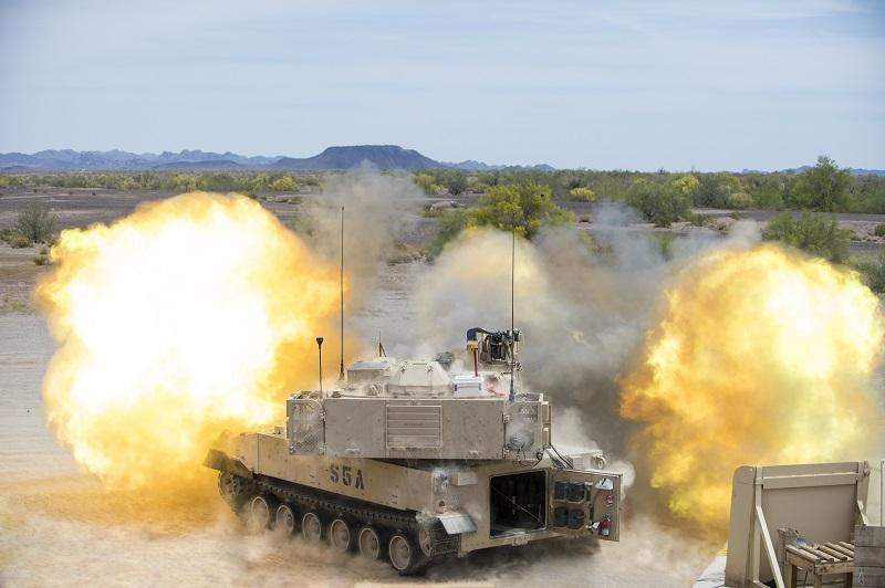 M109A6 de 155 mm SUA