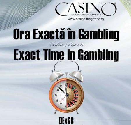 Conferinta Ora Exacta in Gambling Casino Life and Business Magazine Mihnea Popescu