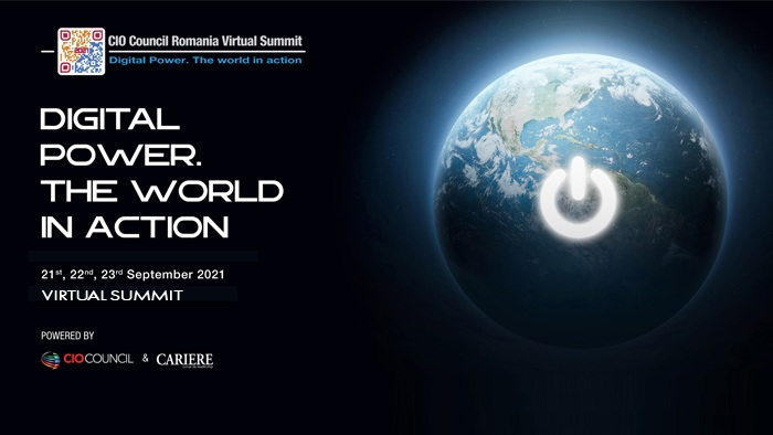 "CIO COUNCIL VIRTUAL SUMMIT - A IX-a ediție a Conferinței Naționale a Asociației CIO Council România: ""DIGITAL POWER. THE WORLD IN ACTION"""