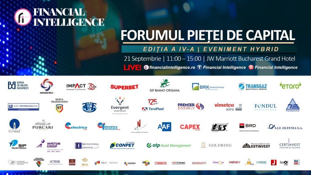 Prim-Ministrul României Florin Cîțu va participa la FORUMUL PIEȚEI DE CAPITAL organizat de Financial Intelligence astăzi, 21 septembrie