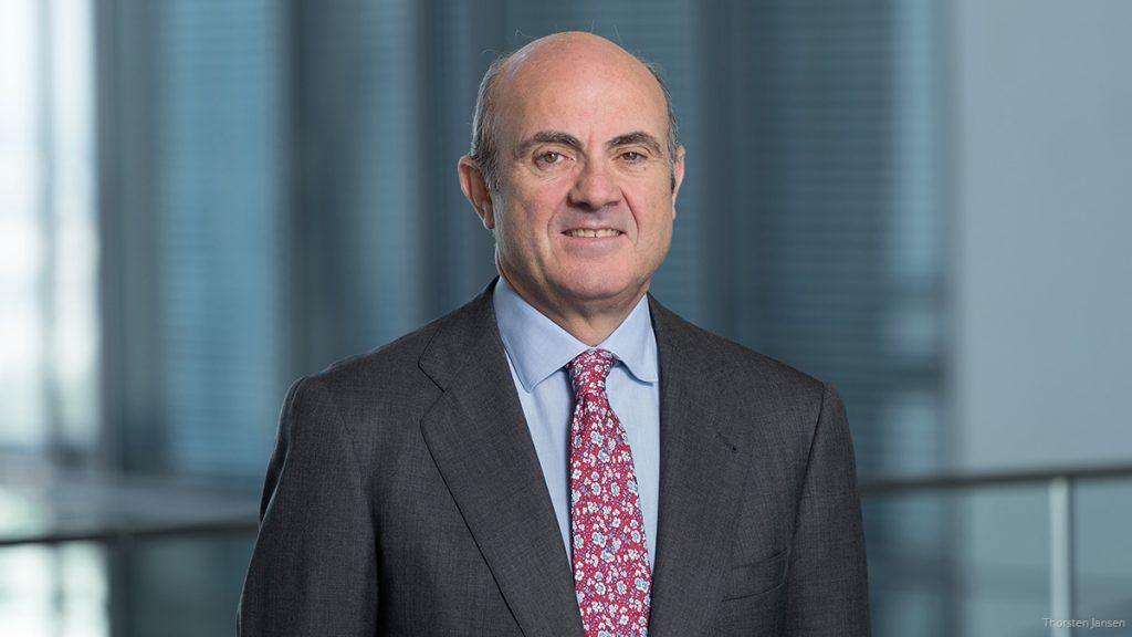 Vice-President Luis de Guindos