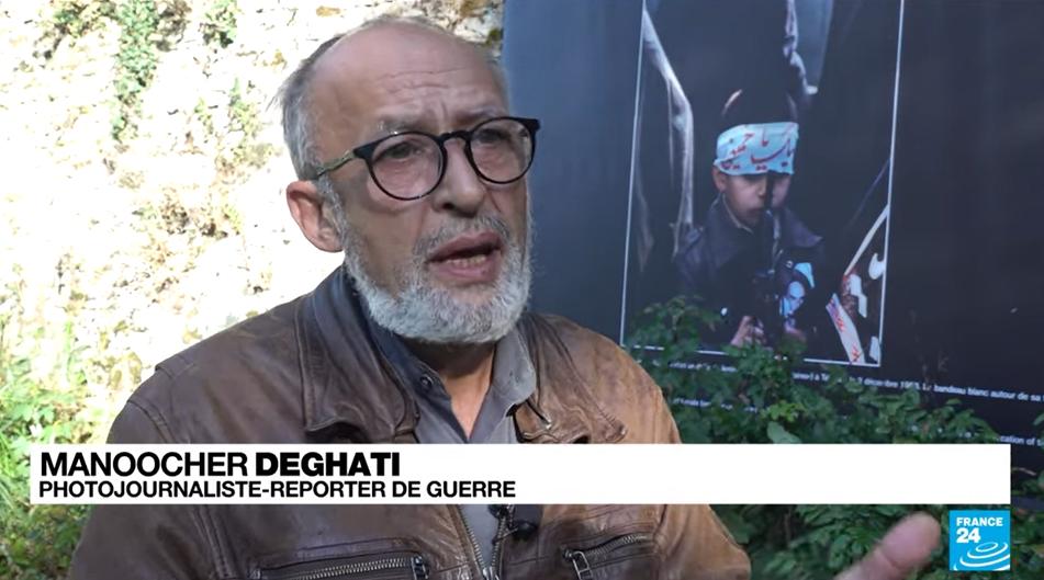 Manoocher Deghati, reporter franco-iranian