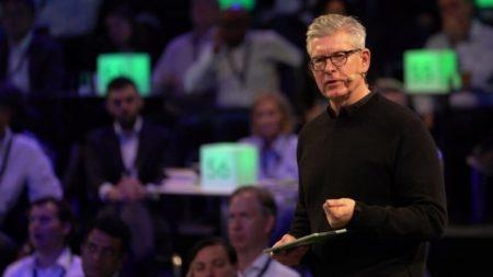 Börje Ekholm, Președinte CEO Ericsson