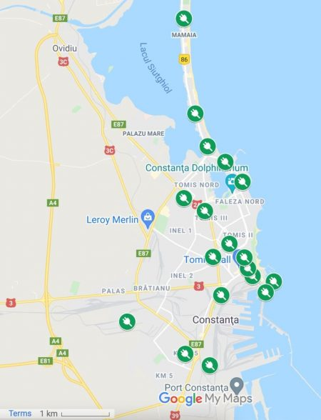 Constanţa: Municipiul va avea în următorul an 18 staţii de reîncărcare a vehiculelor electrice, anunţă primarul Chiţac