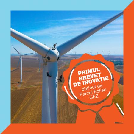 Inovatie CEZ patentata parcul eolian obtine primul sau brevet de inventie