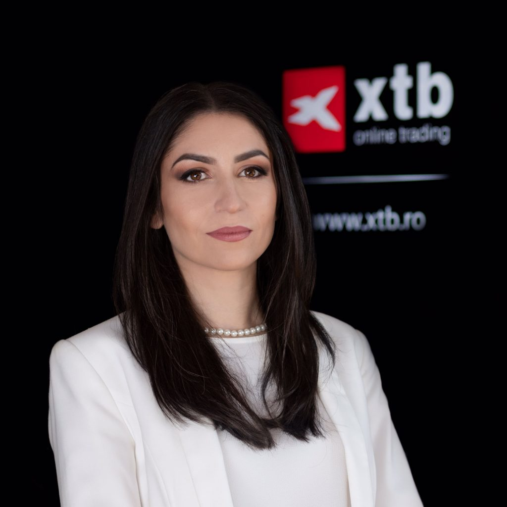 De 3 ori mai multe instrumen Irina Cristescu, General Manager, XTB Romaniate bazate pe criptomonede disponibile acum la XTB