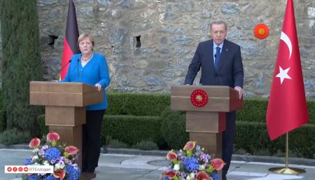Turcia, Angela Merkel