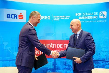 BCR și ROREG - inițiativă comună pentru stimularea accesării celor peste 3,5 miliarde de euro disponibile pentru antreprenori prin Programele Operaționale Regionale