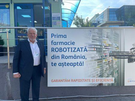 Remedia, partener al BD Rowa, a lansat primul Robot Smart pentru farmacii; Compania estimează cel puțin 10 instalări de roboți, anul viitor