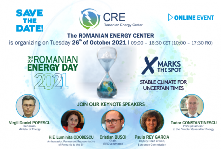CRE Centrul Roman al Energiei ROMANIAN ENERGY DAY