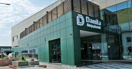 Pachet financiar de 24,7 mil. lei de la EximBank pentrudistribuitorul şi producătorul de materiale de construcţiiDamila